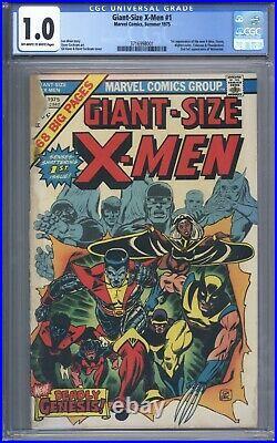 Giant Size X-Men #1 CGC 1.0 Looks Great! 1st app of Storm Nightcrawler, Colossus