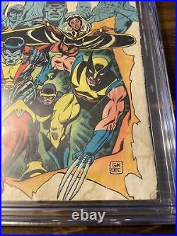 Giant Size X Men #1 CGC 1.8 1st App New X-men Team Storm 2nd Full Wolverine 1975