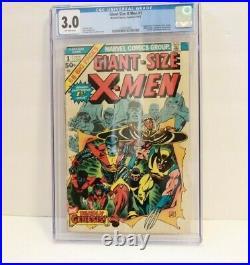Giant Size X-Men #1 CGC 3.0. 1st App New X-Men Storm Colossus Nightcrawler