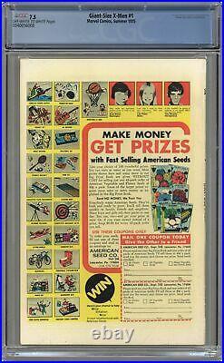 Giant Size X-Men #1 CGC 7.5 1975 0340056008 1st app. Nightcrawler