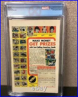 Giant Size X-men #1 Cgc 6.0 Ow-white Pgs 1st New X-men 2nd App Wolverine Label