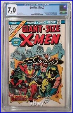 Giant Size X-men #1 Cgc 7.0marvel1st App. Of Storm Colossus Nightcrawler