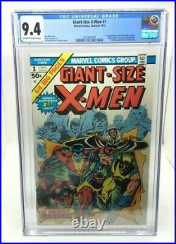 Giant Size Xmen #1 Key 1st App Storm Nightcrawler, Colossus, Thunderbird 9.4