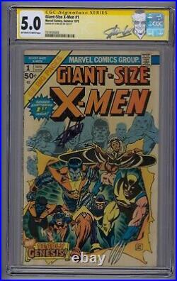 Giant-size X-men #1 Ss Cgc 5.5 1st App New X-men 2nd Full App Wolverine Stan Lee