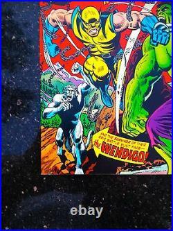 HULK #181 1st App WOLVERINE Comic Book Magazine 1974 NM 9.4 Key CGC it X-Men