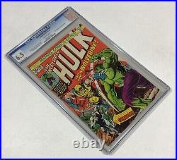 Incredible HULK #181 CGC 6.5 MEGA KEY! (1st Wolverine full app!) 1974 Marvel