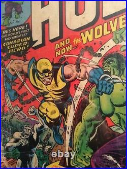 Incredible Hulk #181 (1962) CGC 0.5 1st App Wolverine OWithW Pages COMPLETE