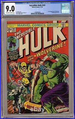 Incredible Hulk #181 CGC 9.0 1974 1488666004 1st app. Wolverine (full non-cameo)