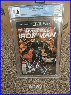 Invincible Iron Man #9 CGC 9.6 1st App Riri Williams Ironheart 1st Print