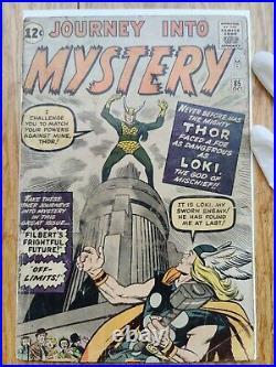 Journey Into Mystery #85 1st App/Print Loki Key Marvel Silver Age 1952 CGC n/a
