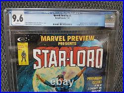 Marvel Preview #4, CGC, 9.6/NM+, 1st App Star-Lord & Sword in the Star
