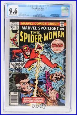 Marvel Spotlight #32 Marvel 1977 CGC 9.6 1st App & Origin of Spider-Woman