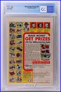 Marvel Super-Heroes #20 Marvel 1969 CGC 8.0 Doctor Doom story. 1st App Valeria