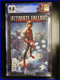 Marvel Ultimate Fallout 4 2nd Print 1st App Miles Morales CGC 9.8 variant