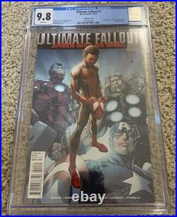 Marvel Ultimate Fallout 4 2nd Print Variant 1st App Miles Morales CGC 9.8 Comic