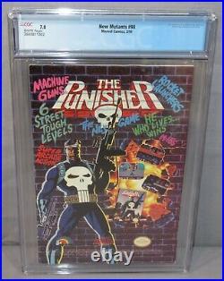NEW MUTANTS #98 (Deadpool 1st app.) CGC 7.0 FN/VF Newsstand Marvel Comics 1991