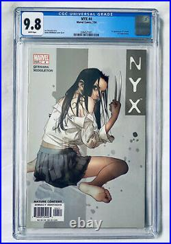 NYX #4 (2004) CGC 9.8 2nd app X-23 WOLVERINE's Daughter MODERN KEY