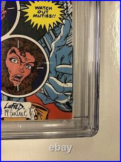 New Mutants (1990) # 87 (CGC 9.8 White Pages) 1st App Cable