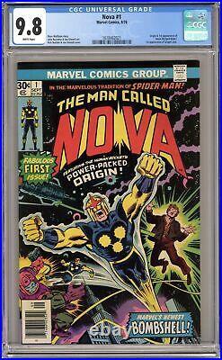 Nova #1 CGC 9.8 1976 1618462021 1st app. Nova
