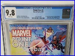 Point One #1 CGC 9.8 Marvel 2012 1st app Sam Alexander Nova