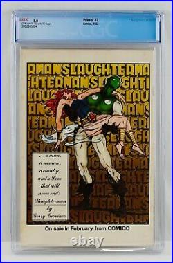 Primer #2 CGC 8.0 Comico 1982 First Grendel & Argent Appearance 1st App HTF Key