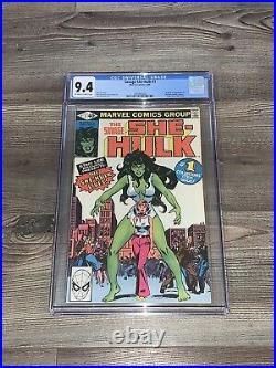 Savage She-Hulk #1 CGC 9.4 NM Origin and 1st App Marvel 1980 Disney+ Near Mint