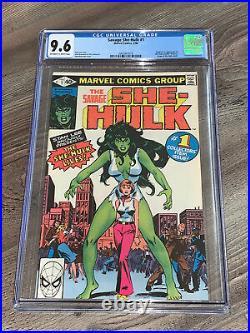 Savage She-Hulk #1 CGC 9.6 NM+ Origin and 1st App Marvel 1980 Disney+ Near Mint