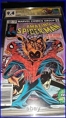 Signed Sketched Amazing Spider-Man 238 CGC SS 9.4 by Romita Jr 1st App Hobgoblin
