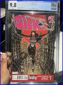 Silk #1 CGC 9.8 White Pages First Dragonclaw Appearance 1st Print Printing App