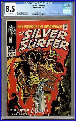 Silver Surfer #3 CGC 8.5 1968 3770986002 1st app. Mephisto