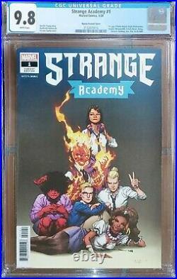 Strange Academy 1 150 Variant CGC 9.8 1st App Doyle Dormammu Emily Bright NM/MT