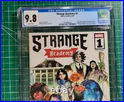 Strange Academy #1 (2020) CGC 9.8 NM/MT 1st Apps Bright Dormammu Marvel SALE