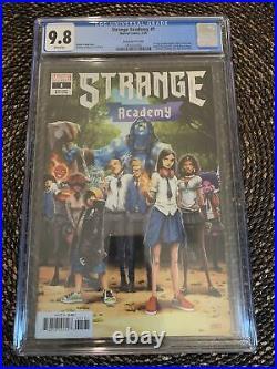 Strange Academy #1 (2020) Ramos 125 Variant CGC 9.8 Marvel 1st App Emily Bright