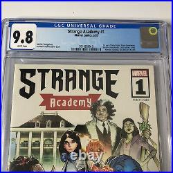 Strange Academy #1 CGC 9.8 Ramos Cover 1st App Bright Dormammu 2020 Marvel