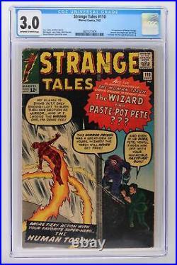 Strange Tales #110 Marvel 1963 CGC 3.0 1st App Doctor Strange & Ancient One