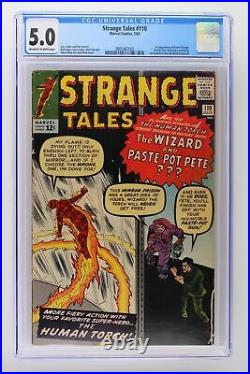 Strange Tales #110 Marvel 1963 CGC 5.0 1st App of Doctor Strange & Ancient One