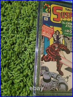 TALES OF SUSPENSE #52 1st App Black Widow CGC 6.0 FN Marvel Comics 1964