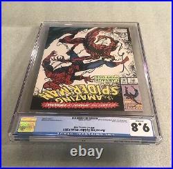 THE AMAZING SPIDER-MAN #361 CGC 9.8 WP NM/MT Marvel Comics 1992 1st App Carnage