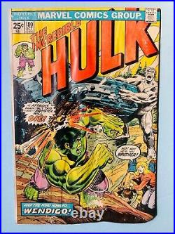 THE INCREDIBLE HULK #181 CGC 1.0 & #180 RAW -Wolverine 1st app. COMPLETE