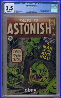 Tales To Astonish #27 Cgc 3.5 1st App Ant-man