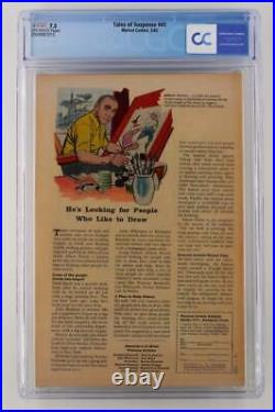 Tales of Suspense #41 CGC 7.5 VF- Marvel 1963 3rd App Iron Man