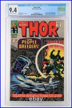 Thor #134 CGC 9.4 NM Marvel 1966 1st App High Evolutionary & Man-Beast
