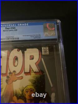 Thor 165 Marvel 1969 CGC 7.5 1st App of Him (Adam Warlock) GOTG MTU OWW Pages