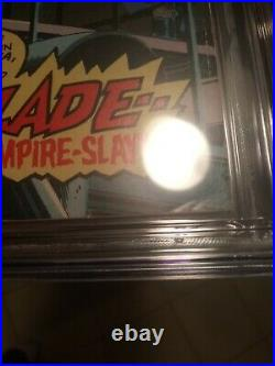 Tomb Of Dracula #10 CGC 5.0 OWithW 1st App Blade The Vampire Slayer! NEEDS A PRESS
