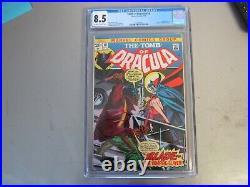 Tomb Of Dracula #10 CGC 8.5 Comic Book 1st App. Of Blade