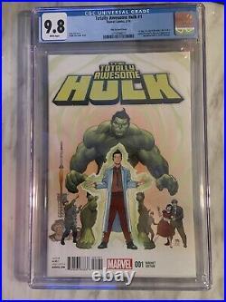Totally Awesome Hulk #1 CGC 9.8 125 Variant 1st App Cho as Hulk Marvel 2016