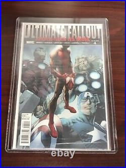 Ultimate Fallout #4 1st Print 1st App Miles Morales Still In Bag Tempted To CGC