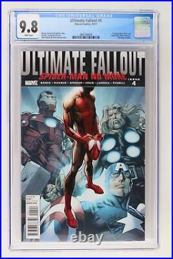 Ultimate Fallout #4 Marvel 2011 CGC 9.8 1st App new Spider-Man (Miles Morales)
