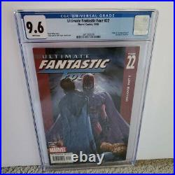 Ultimate Fantastic Four #22 CGC 9.6 WP 1st App Of Marvel Zombies MCU Hot Key