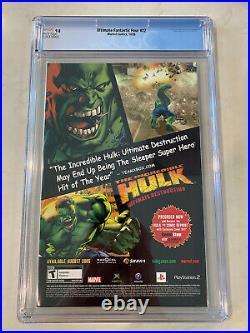 Ultimate Fantastic Four #22 CGC 9.8 1st App & Origin Marvel Zombies Thor Cates